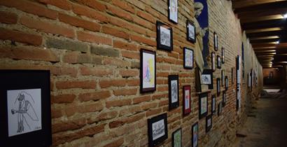 Conception et exposition d'illustrations personnelles - Projet culturel libre école de médiation culturelle ICART