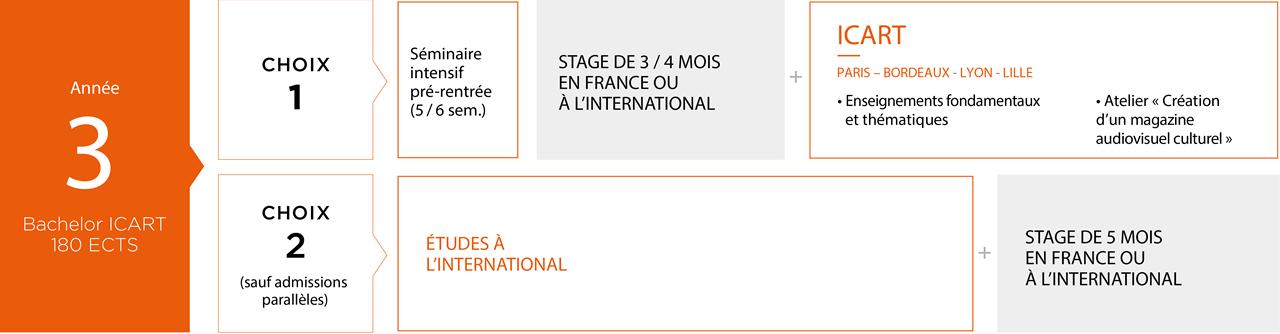 Licence Médiation Culturelle ICART 3e année