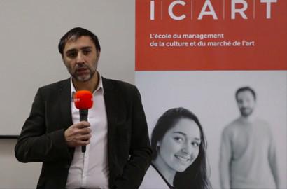 Actu ICART - Masterclass : Le mécénat culturel à l'honneur