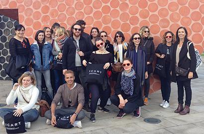 Actu ICART - Les étudiants de l'ICART en voyage d'études à Bilbao
