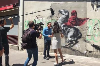 Actu ICART - Le directeur de l'ICART, spécialiste du street art, dans les médias!