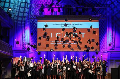 Actu ICART - Cérémonie de remise de diplômes de la Promotion 2018 de l'ICART Paris