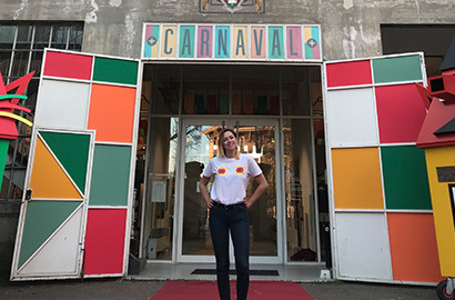 Actu ICART - Kassandra, en MBA Spécialisé Ingénierie Culturelle - Chef de projet culturel pour le 308-Maison de l'Architecture