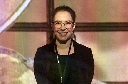 Actu ICART - Juliette, en Master Ingénierie Culturelle, réalise son stage dans l'événementiel culturel à l'Atelier des Lumières