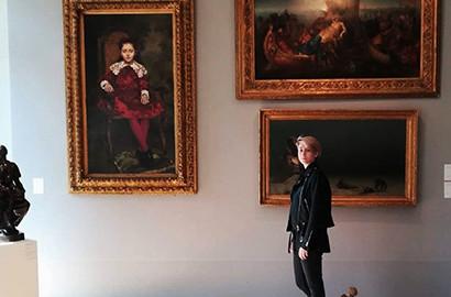 Actu ICART - Manon, en formation Marché de l'Art, réalise son stage chez Artcurial