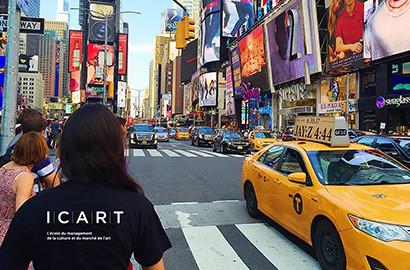Actu ICART - Partir étudier à l'ICART New York