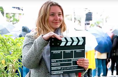 Actu ICART - #ICARTCannes - Margot et son accès exclusif aux projections