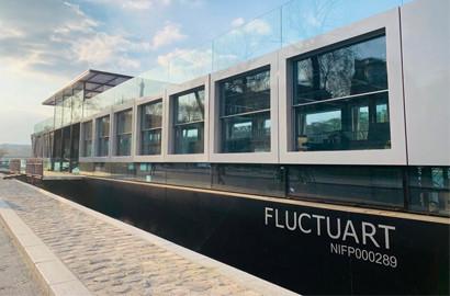 Actu ICART - L'ICART s'associe à Fluctuart, le premier musée d'art urbain flottant