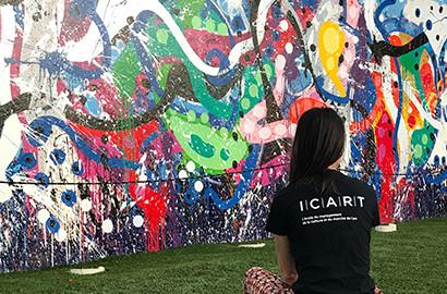 Actu ICART - Voyage d'étude immersif au coeur de Art Basel Miami!