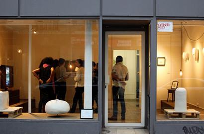 Actu ICART - Création d'une galerie et exposition éphémère par les étudiants de l'ICART