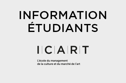 Actu ICART - INFORMATION : Message à l'attention des Étudiants