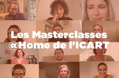 Actu ICART - Les Masterclasses @Home de l'ICART