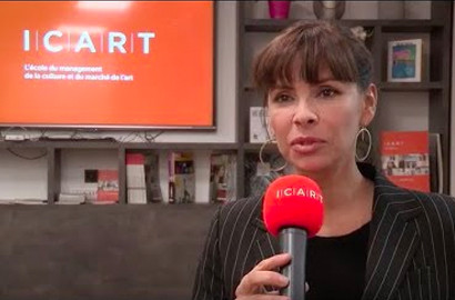Actu ICART - Rencontre avec Mathilda May