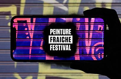 Actu ICART - L'ICART, partenaire du Festival Peinture Fraîche à Lyon