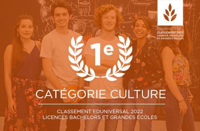 Actu ICART - L'ICART, de nouveau classée 1e école de médiation culturelle