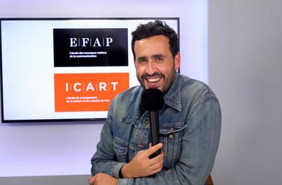 Actu ICART - Masterclass exclusive de Jonathan Cohen à l'ICART!