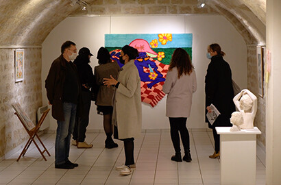 Actu ICART - Organisation d'une exposition caritative au profit du palais de la Femme