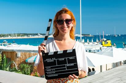 Actu ICART - #ICARTCANNES - Séléna enchaîne les projections et les avant-premières au Festival de Cannes!