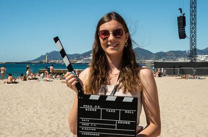 Actu ICART - #ICARTCANNES - Séhalia accréditée pour le Festival de Cannes grâce à l'ICART!