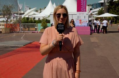 Actu ICART - #ICARTCANNES - Perrine Quennesson, journaliste, critique de cinéma & présentatrice de l'émission Le Cercle sur Canal+