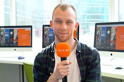 Actu ICART - Jules, en stage de 4e année dans une agence culturelle