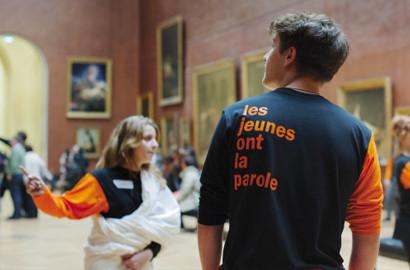 """Actu ICART - Partenariat avec le Musée du Louvre pour l'opération """"Les Jeunes ont la Parole"""""""