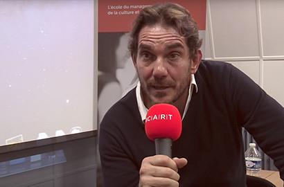 Actu ICART - Conférence de Sébastien Farran, producteur et manager d'artistes