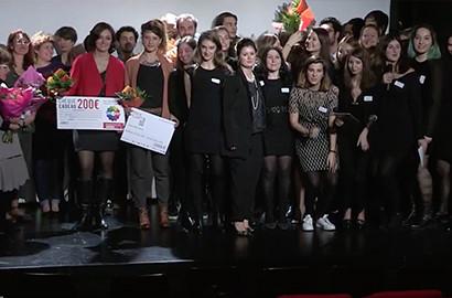 Actu ICART - Les lauréats du Prix ICART Artistik Rezo 2016