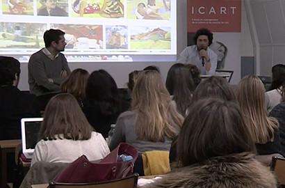 Actu ICART - L'ICART reçoit Philippe SÉGALOT, Art Advisor