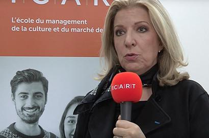Actu ICART - L'ICART reçoit Yoyo Maeght, galeriste et commissaire d'exposition
