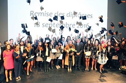 Actu ICART - Cérémonie de remise de diplômes, Promotion 2016 - ICART Bordeaux