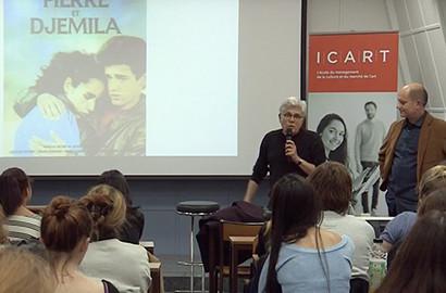 Actu ICART - Masterclass : Voyage à travers le cinéma français