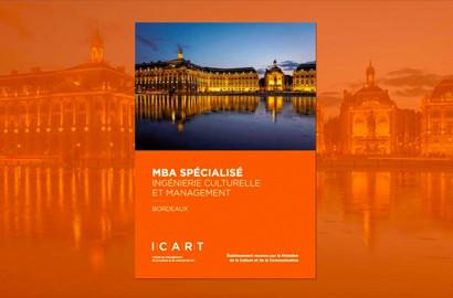 Actu ICART - Nouveau MBA Spécialisé à Bordeaux