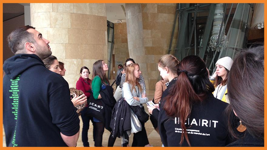 Master médiation culturelle ICART Bordeaux - Voyage d'étude à Bilbao