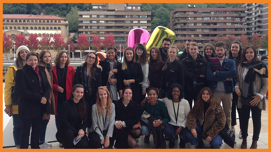 Les étudiants du MBA Ingénierie culturelle de l'ICART Bordeaux