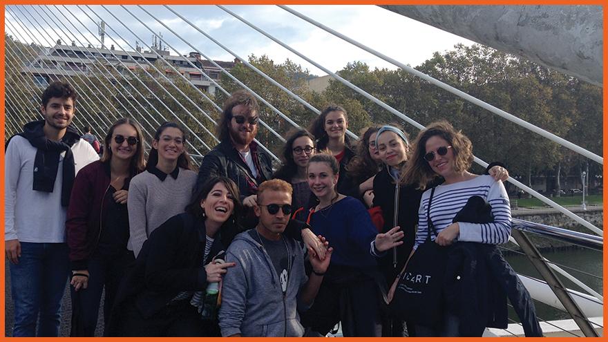 Voyage d'Etude à Bilbao - Ecole de Médiation Culturelle ICART