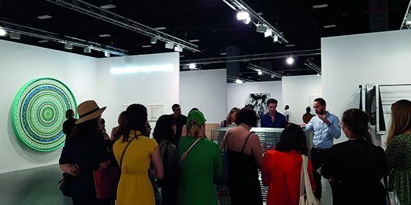 Rencontre avec des professionnels du marché d'art pour les étudiants ICART