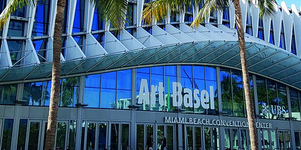 Les étudiants de l'école de médiation culturelle ICART étaient au Art Basel Miami