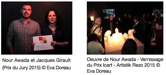 Nour Awada, lauréate Prix Icart - École Management Culturel et Art ICART