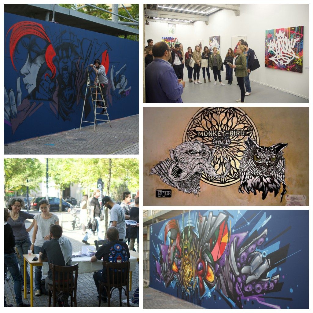 Présentation du projet artistique M.U.R de Bordeaux - ICART