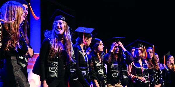 ICART Bordeaux - Remise de diplômes du bachelor médiation culturelle