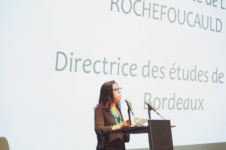 Marie-Bénédicte de La Rochefoucauld, Directrice des études de l'ICART Bordeaux l'école du management de la culture et du marché de l'art