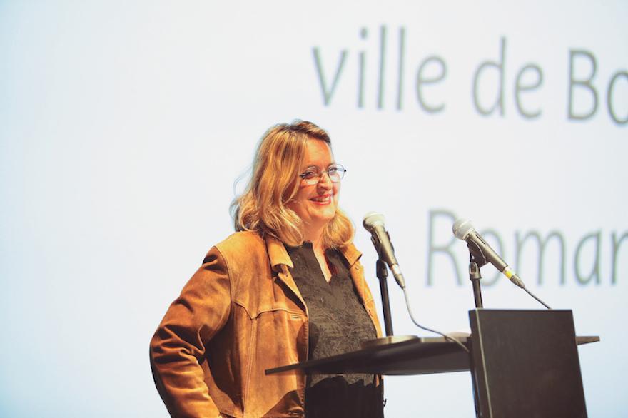 Marie-Laure Hubert Nasser, Directrice de la Communication de la Ville de Bordeaux, Marraine de la Cérémonie de Remise des Diplômes 2016 de l'ICART Bordeaux