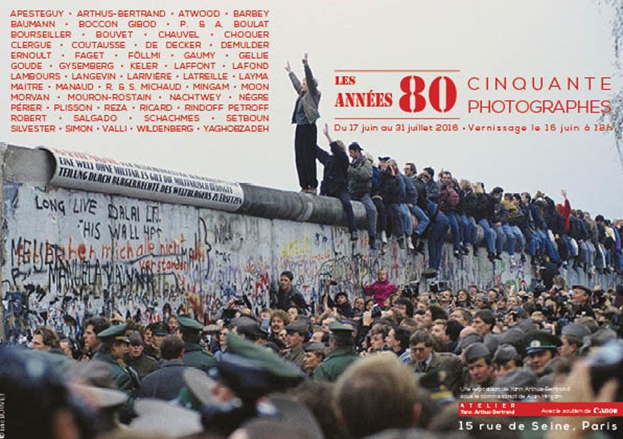 Exposition Les Années 80 Yann-Arthus Bertrand - ICART