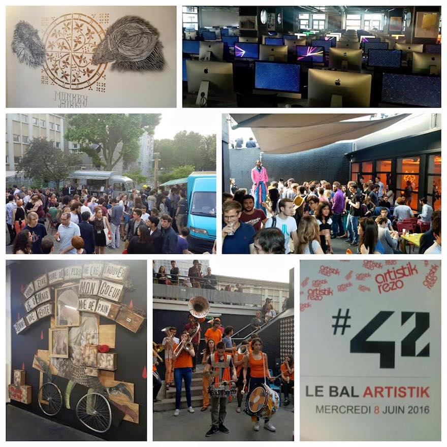 Bal Artisitik Rezo et Ecole 42 - Ecole de Médiation Culturelle ICART