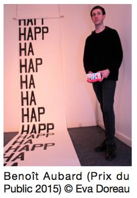Benoît Aubard, lauréat Prix Public - École Management Culturel et Art ICART