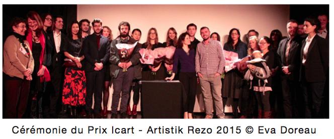 Prix ICART - École Management Culturel et Art ICART
