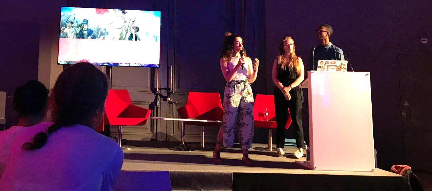 Hackathon Art & Digital avec l'école de médiation culturelle ICART