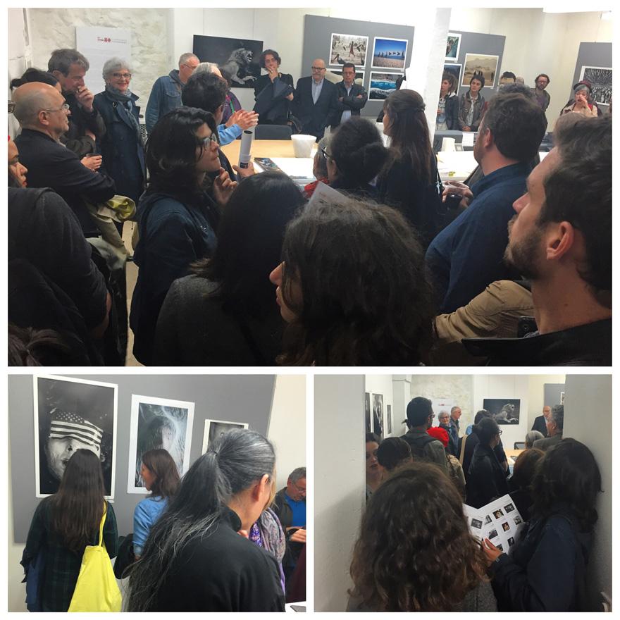 Exposition Yann Arthus-Bertrand - Rencontre avec les Etudiants ICART